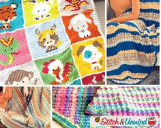 Share Tweet + 1 Mail You know you can crochet a blanket in straight rows, but did you know you can crochet a blanket ...