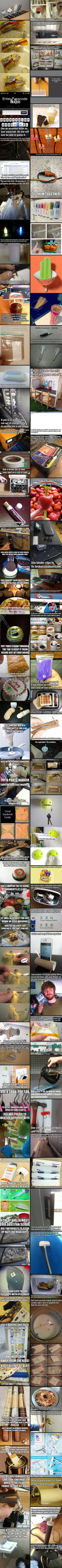 97 Ways to make your life easier! - Click image to find more DIY & Crafts Pinterest pins