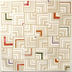 I love, love, love this.  I'm going to make my version after I eventually get my Kaleidoscope quilt completed.