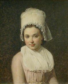 Jacques-Louis David - Portrait de Catherine-Marie-Jeanne Tallard (1795)