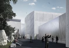 Project Meganom To Remodel Moscow's Pushkin Museum of Fine Arts