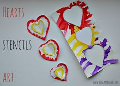 Hearts Art Projects for kids