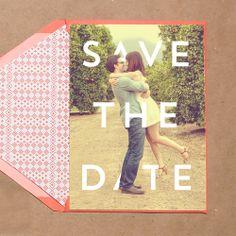 Carolyn & Ian Wedding Stationery Suite by Parallelogram. Los Angeles Arboretum. Orange Grove theme wedding. Summer wedding photo Save The Date. Modern wedding invitation design 15% off sale through April 2014.