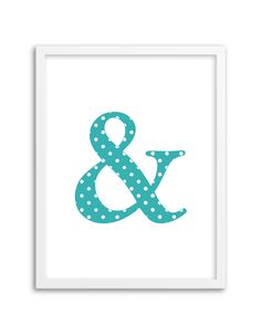 Download and print this free printable polka dot ampersand wall art for your home or office! Directions: Unlock the files. Once you unlock the files (by sharing, liking, following), the download buttons will appear. Click the download button below to download the PDF file. Press print. PERMITTED USE: This file is for personal use only. If...