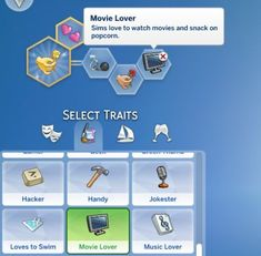 Lana cc finds - movie lover trait by sims_lover (sims movie Sims Love, The Sims 4 Pc, Sims 5, Sims 4 Cas, Sims Traits, Sims 4 Black Hair, Sims 4 Game Mods, Sims 4 Gameplay, Sims 4 Cc Skin