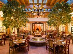 La Plazuela Restaurant at La Fonda on the Plaza, Santa Fe: New Mexico Hotel : Condé Nast Traveler