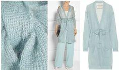 Knit Fashion, Fashion Art, Knitted Poncho, Knit Dress, Knitwear, Knit Crochet, Cardigans, Sewing, Knitting