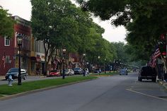 Enjoy many shopping and dining options on Main Street in Wellsboro, PA! Wellsboro is home to many events throughout the year, such as Laurel Festival and Dickens of a Christmas. Visit www.wellsboropa.com for more information!
