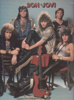 "the–blackdahlia: ""Good Morning Crueheads Today is Sunday Spotlight Today's Theme: Bon Jovi The Motley Crew: Jon Bon Jovi, Bon Jovi 80s, 80s Rock Bands, 80s Hair Bands, Journal Vintage, Bon Jovi Always, Rock Band Posters, Vintage Music Posters, Band Wallpapers"