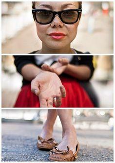 Triptychs of Strangers #22, The Ageless Sunday Lady by adde adesokan, via Flickr: