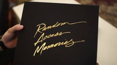 Daft Punk: Random Access Memories Unboxing A real piece of art!
