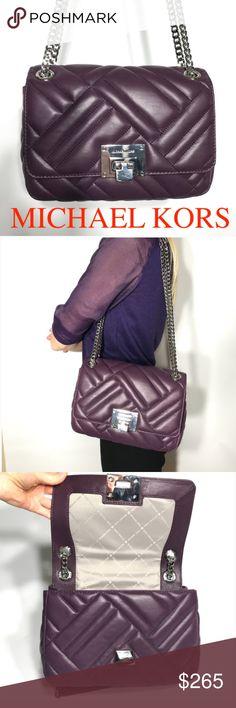 c17dd686a699 Michael Kors Shoulder Bag Purse Chanel Leather Michael Kors Vivianne  Shoulder Purse Bag Handbag Leather Orig
