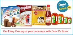 Get Every Grocery at your doorsteps with ‪#‎DoorPeStore‬ ‪#‎SayByeToMRP‬