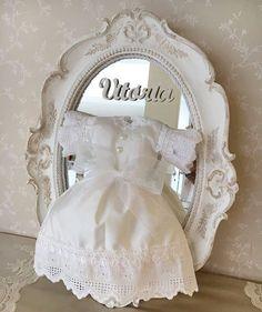 Escolha da @mc_pocahontas para sua princesa Vitória!!! Muito sutil e delicado!! 💛💛💛
