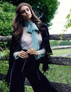 Высший класс: Тейлор Хилл представила актуальные тренды на страницах VOGUE - журнал о моде Hello style