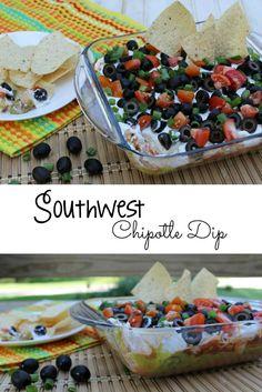 Southwest Chipotle Dip Recipe [ad]