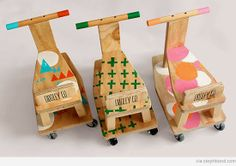 looks easy enough to put together myself! Fun for the kids to decorate themselves. Handprints and footprints!