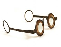 Martin's Margin Temple Spectacles - Phisick   Medical Antiques