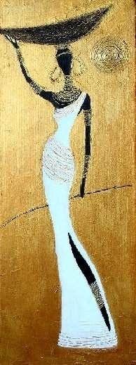 super Ideas for african art painting girls African American Art, African Women, Tableaux Vivants, Afrique Art, African Paintings, African Prints, African Fabric, Art Africain, Black Artwork