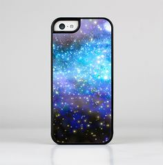 The Glowing Space Texture Skin-Sert for the Apple iPhone 5c Skin-Sert Case