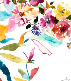 Ending our watercolour week with some soft yet bold blossoms! Watercolours are such a fantastic way of creating stunning illustrations without the restrictions. Who doesn't love to spend a lazy Sunday with some watercolours and a paintbrush?! Count us in! . . . #watercolour #florals #textiles #prints #textiledesign #design #australiandesign #inspiration #lpdloves