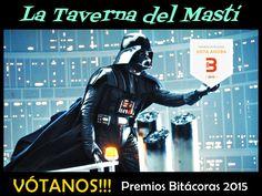 """Cómo es ya costumbre cada año por estas fechas, una nueva edición de los Premios Bitácoras tiene lugar, que son los galardones más importantes y de clara referencia en el ámbito digital en España. Nuestro blog """"La Taverna del Mastí"""" vuelve a presentarse. Si os gusta el blog, ayúdanos con tu voto a llegar a la gran final de Madrid!!!! http://www.tavernamasti.com/2015/09/el-blog-la-taverna-del-masti-se-vuelve.html"""