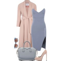 Untitled #1123 by efiaeemnxo on Polyvore featuring Yves Saint Laurent, Givenchy and Fendi