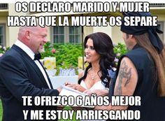 La boda de empeños        Gracias a http://www.cuantocabron.com/   Si quieres leer la noticia completa visita: http://www.estoy-aburrido.com/la-boda-de-empenos/