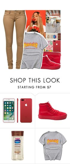 """BTS Outfit❤️"" by divap01 ❤ liked on Polyvore featuring Vans, Vaseline and Monkee Genes"
