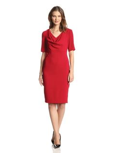 Anne Klein Women's Cowl Neck Elbow Sleeve Dress,  http://www.myhabit.com/?tag=bunofsta-20#page=d&dept=women&sale=A17E36DSDU7L7A&asin=B00LMWS0M0&cAsin=B00M0H0A06