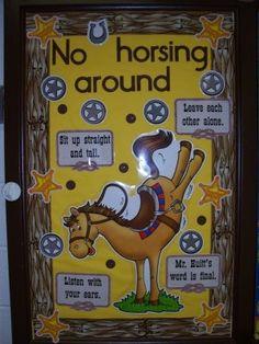 western theme classroom ideas | MusicTeachersRock on Xanga   -  adapt for any topic