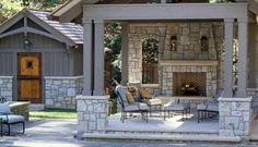 Creative Outdoor Fireplace Designs and Ideas