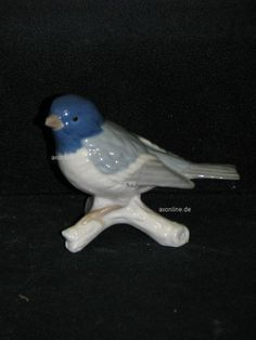 Goebel Porzellan Figur Tier Animal Vogel Bird Fink Finch 38-026