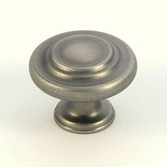 @Overstock - Weathered nickel three-ring cabinet knobs measure 1.25 inch in diameter  Knobs feature solid zinc alloy die cast construction  Cabinet hardware is individually poly-bagged to prevent damage to the finishhttp://www.overstock.com/Home-Garden/Stone-Mill-Weathered-Nickel-3-ring-Cabinet-Knobs-Pack-of-25/4587349/product.html?CID=214117 $78.99