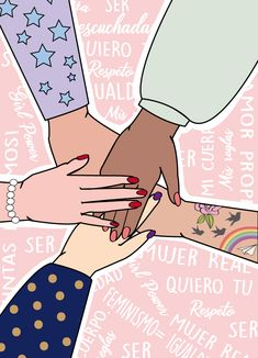 Girl Power. Feminism. Sororidad.