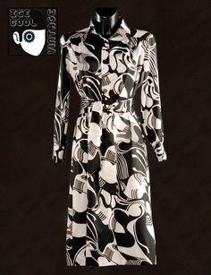 70s 'Lanvin - Paris / New York' dress.