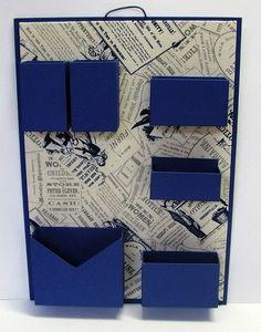 Re-use of shoe boxes. Paper Folding Crafts, Paper Crafts, Diy Storage, Diy Organization, Organizing, Diy And Crafts, Arts And Crafts, Ideas Para Organizar, Cardboard Crafts