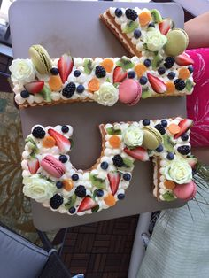 Number Cakes, Desserts, Food, Tailgate Desserts, Deserts, Essen, Postres, Meals, Dessert