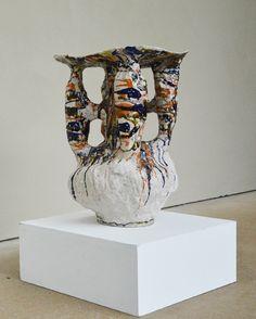 Johannes Nagel<br> Excavation Series<br> 2014<br> 57 x 44 x 44 cm/ 1ft 10 1/2 x 1ft 5 3/8 x 1ft 5 3/8 ins