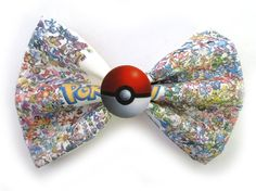 Hey, I found this really awesome Etsy listing at https://www.etsy.com/listing/192986266/pokemon-master-pokemon-inspired-bow
