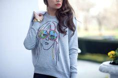 sweatshirt . Women's circle for change | The Fashion Fruit