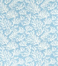 Home Decor Print Fabric-Faylinn Teal Optical
