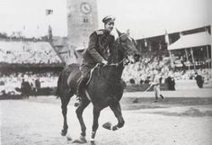 Grand Duke Dmitri Pavlovich Romanov of Russia competing at the 1912 Stockholm…