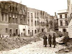 Rynek. Za plecami Niemców - Trybunał My Kind Of Town, World War Ii, Wwii, Poland, Fotografia, History, World War Two