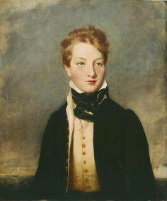 Rear-Admiral Louis Tindal, circa 1810-76, as a Boy - Anon.1825