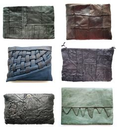 Bag art by Nutsa Modebadze #leatherbag #leatherclutch