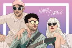 paramore art Hard Times Paramore, Paramore Wallpaper, Indie, Paramore Hayley Williams, Taylor York, Top Band, Fanart, Fall Out Boy, My Chemical Romance