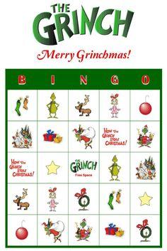 Grinchy Bingo