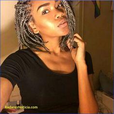 Bob Braids Pictures 40719 Short Gray Box Braids Braids and Updos Brown Box Braids, Box Braids Bob, Braids For Short Hair, Box Braids Hairstyles, Chic Hairstyles, Amazing Hairstyles, Hairstyle Ideas, Braided Hairstyles For Black Women, Braids For Black Women