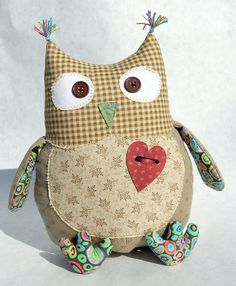 of course there are valentine's owls...